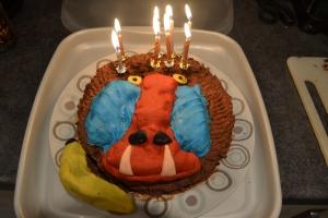 Baboon Cake
